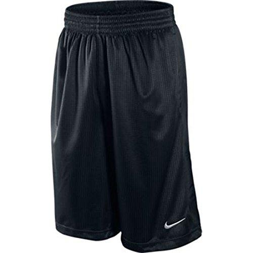 Nike–Giacca da uomo Squad Pile Track Black/Black/White