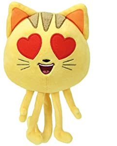 Ty The Movie Cat Heart Eye, Emoji, 15 cm United Labels Ibérica 42294TY
