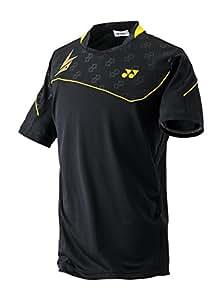 Yonex 10001LDEX Lin Dan Performance Crew Neck T-Shirt, Men's XX-Large (Black)