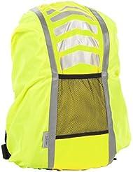 Ultrasport Housse de protection et de sécurité contre la pluie pour cartable ou sac à dos (25-42litres)