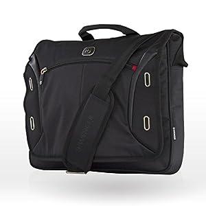 """419CxwO0IVL. SS300  - Wenger 600665 Developer - Mochila con Compartimento Acolchado para portátiles (15.4"""") Color Negro"""