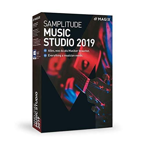 MAGIX Samplitude Music Studio - Version 2019 - das komplette Studio zum Komponieren, Aufnehmen, Mixen und Mastern