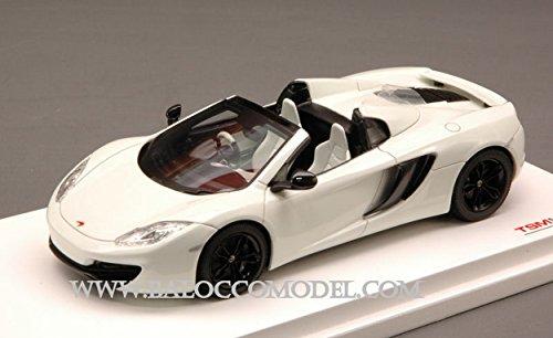 True Scale Miniatures TSM134339 MC Laren MP4-12C Spider 2013 White 1:43 DIE CAST kompatibel mit