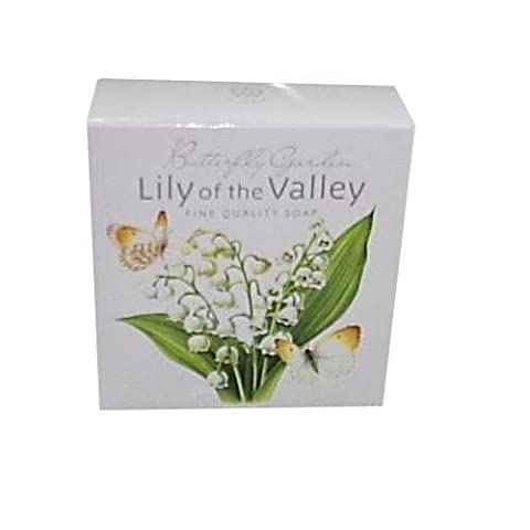 White Rose Aromatics 'Butterfly Garden' Scented Soap - Lily of the Valley