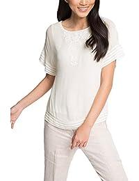 ESPRIT Collection Damen Bluse 046eo1f018 - Fließend Weiche Qualität
