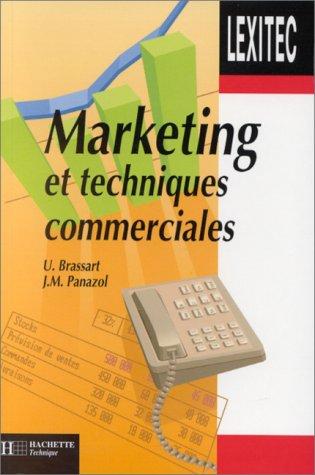 Lexique de marketing et techniques commerciales