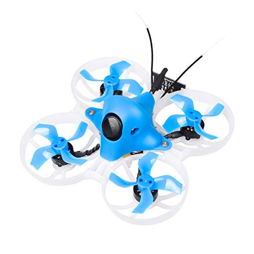 BETAFPV Upgraded Beta75X 3S Brushless Whoop Drone with F4 2-4S AIO 12A FC Frsky LBT Customized EOS2 Camera 4:3 OSD Smart Audio 8000KV 1103 Motor XT30 Cable for Tiny Whoop FPV Racing Low-voltage-audio