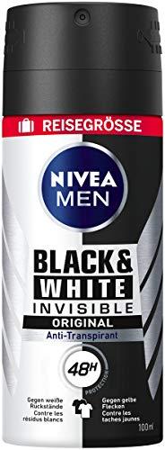 Spray invisible Nivea Men Black & White