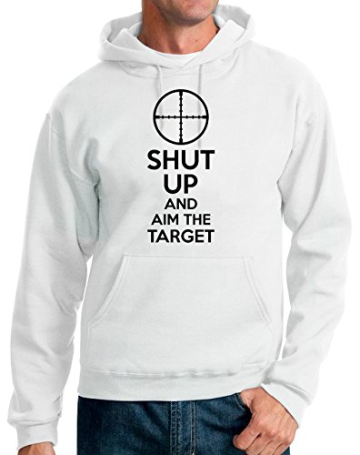 shut-up-and-aim-the-target-unisex-pullover-hoodie-small