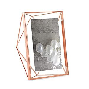 Umbra 313019-040, Steel Prisma Multi-Photo Frame, copper, 13x18