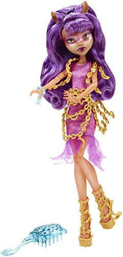 Monster High Haunted Getting Ghostly Clawdeen (Monster High Haunted)