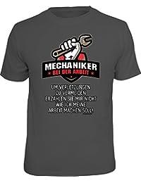 Mechaniker Mechatroniker Handwerker T-Shirt Geschenk  Autoschrauber S 4XL