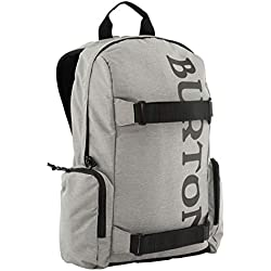 Burton Emphasis Mochila, Unisex Adulto, (Gris Heather), Talla única