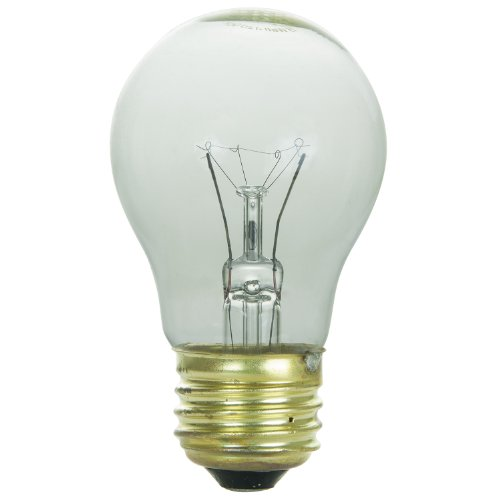 Sunlite 40 A15/CL/Cd1 120-volt 40 Watt Medium Base Glüh A15 Gerät Lampe -