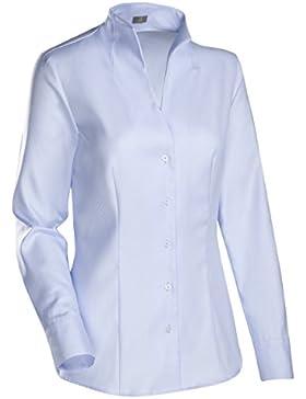 JACQUES BRITT Damen Bluse Bügelleicht Streifen City-Bluse