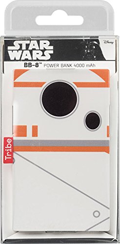 Tribe Star Wars - Cargador portátil (4000mAh) batería externa móvil para celulares,...