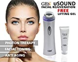 Best Facial Toner Skin Tightenings - Ultrasonic LED Light Photon Therapy Beauty Skin Care Review