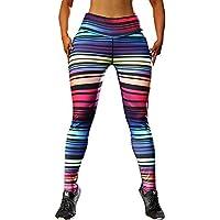 Leggings Yoga Mujer Pantalones Deportivos Largos Leggings, Yusealia Leggins Mujer Fitness Cintura Alta Impresión de Navidad,Moda Empalmada Pantalones para Running Deportes De Flaco Fitness Gimnasio
