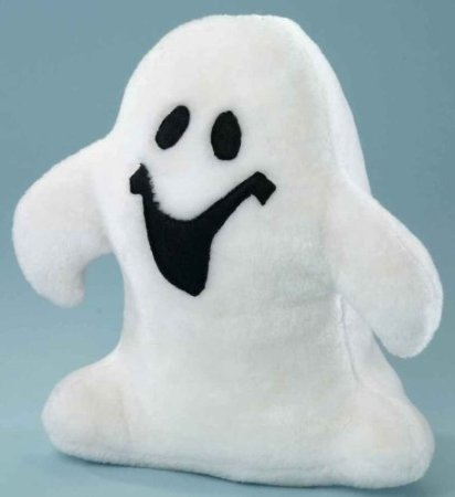 , 29 cm, weiß, stehend (Boo Halloween-film)