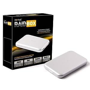 Zotac RAIDbox Boîtier disque dur 2 x mSATA Raid 0/1 USB 3.0