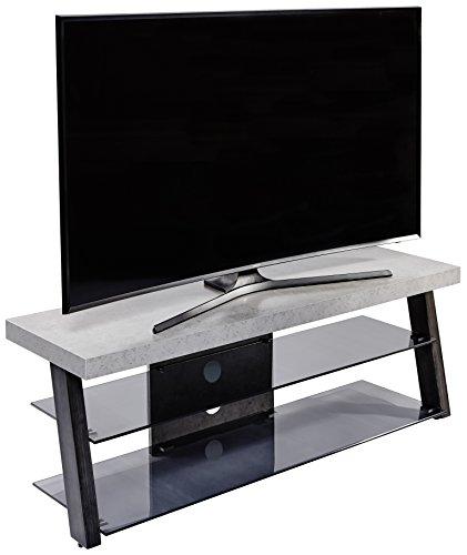 Jahnke Meuble TV TR 230, Bois, Gris, 40 x 130 x 43 cm
