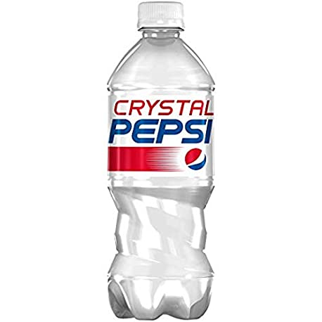 Crystal Pepsi Clear Cola Limited Edition 591ml Bottle BBE 05 11 18
