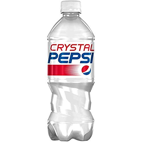 Crystal Pepsi - Clear Cola - Limited Edition - 591ml Bottle - BBE 05/11/18 -