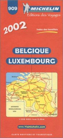 Belgique Luxembourg. 1/350 000