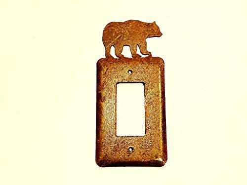 1. American Metall Art Elektrische Single Toggle Metall Rost Rustikal-Cover Srocbear-02 -