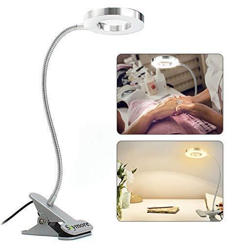 Skymore lampada estetista per la Protezione degli Occhi LED USB, Lampada LED USB Portatile, Luce Calda e Clip Portatile e Lampada a Collo di Cigno Flessibile per Trucco Tattoo Tool Tattoo Tattoo - Gooseneck Schreibtisch-tisch-lampe