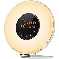 Bestfort LED Wake up Wecker - Wake up Light - Lichtwecker - Radiowecker - FM Radio digital - Kinderwecker Mädchen-Jungs... preisvergleich bei billige-tabletten.eu