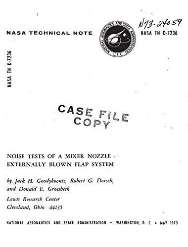 Noise tests of a mixer nozzle-externally blown flap system (English Edition)