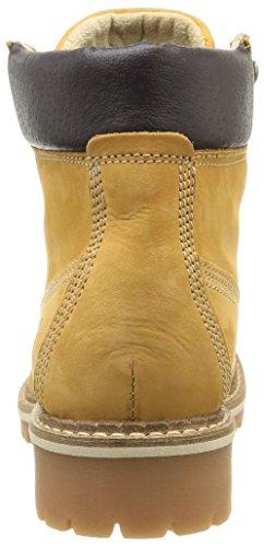 Mustang 2837503, Bottes Classiques femme Jaune (66 Camel)