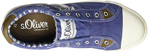 s.Oliver 14600, Sneakers Basses Homme Bleu (DENIM 802)