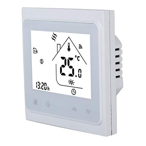 Bewinner Home Thermostats, Smart Programmierbare Thermostate mit LCD-Touchscreen-Tastensperre Dual Sensor WiFi Thermostat Temperaturregler für Warmwasserheizung -