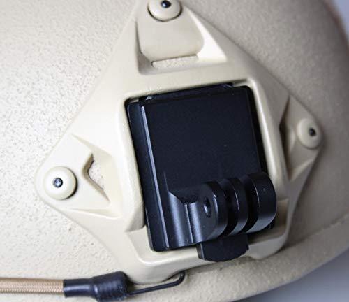 BEST protection Helmhalterung Fast Helm für GoPro