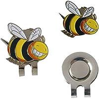 Pequeño modelo de la abeja Marcador de la bola del sombrero del golf