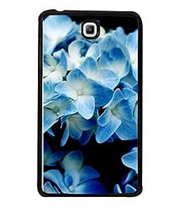 PrintVisa Designer Back Case Cover for Samsung Galaxy Tab 3 (8.0 inches) T310 T311 T315 LTE (Macro Hydrangea Garden Plant Purity Fresh)