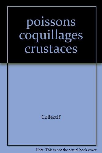 poissons coquillages crustaces