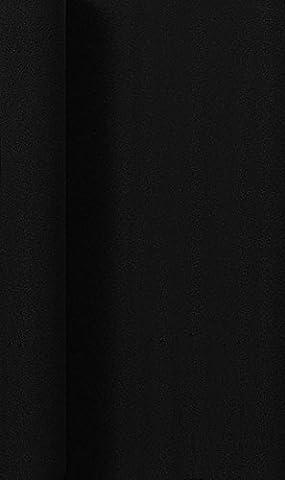 Duni Tischdeckenrolle aus Dunicel Uni schwarz, 1,25 x 10 m