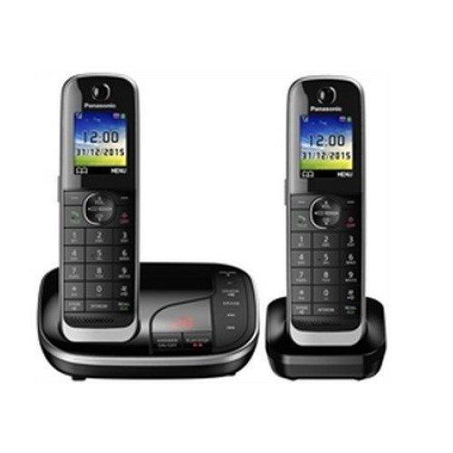Panasonic KX-TGJ322GB Schnurlostelefon mit Anrufbeantworter (DECT)