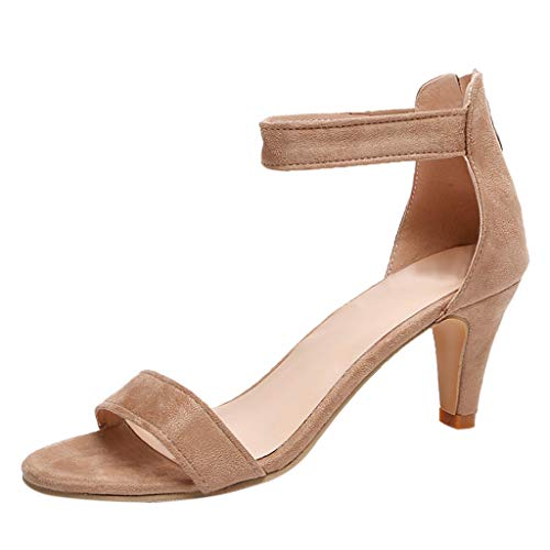 Zapatos Tacon Mujer Sandalias Fiesta High Heels Sandalias de Vestir Zapatos Kanlin1986 Vintage Zapatos...