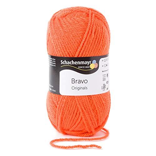 Schachenmayr Bravo 9801211-08192 kürbis Handstrickgarn, Häkelgarn