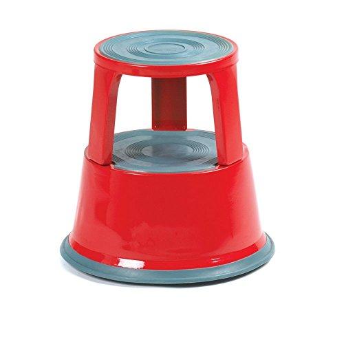 RACKIT ga009z-red GS geprüft Kick Schritt, Stahl, rot -