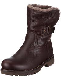 Panama Jack Felia Igloo  Damen Warm gefüttert Biker Boots Halbschaft Stiefel & Stiefeletten