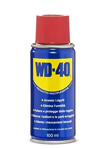 WD-40 Multifunzione - Lubrificante Spray Multifunzione Anticorrosivo e Sbloccante - 100 ml