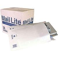 Sealed Air Mail Lite - Paquete de 50 Sobres (240 x 330 mm, Color blanco, Polietileno)