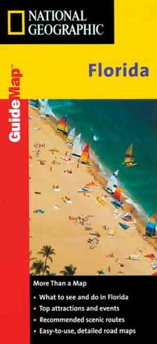 Guide Map-Florida - Guide Map (National Geographic GuideMaps) (Mapquest Road Atlas)