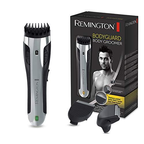 Remington Body Hair Trimmer Bodyguard BHT2000A, inkl. Folienrasiereraufsatz, Nass- und Trockenanwendungen, schwarz/grau