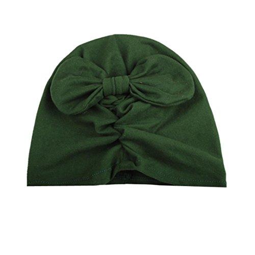 Barbarer kleinkinder, die kleine blume hebt hut kopfbedeckung hut (Militär Grün)